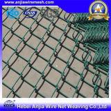 PVC recouvert Gavanized Chain Link Fence Clôture de jardin Clôture de sécurité Clôture de parc