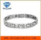 De Europese en Amerikaanse Manier Aangegane Armband van het Paar van het Titanium met de Juwelen van het Roestvrij staal