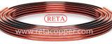 Kupfernes Pfannkuchen-Gefäß der Größen-9.52mm