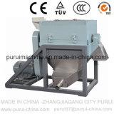 Film plastique/sacs de rebut réutilisant le lavage et pelletisant la machine