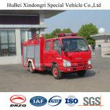 3ton Isuzuの水漕の消火活動のトラックのユーロ4