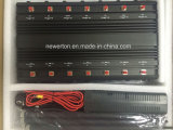14 Lojack Wi Fi+ 원격 제어 433 315 868MHz +GPS +VHF/uhf 라디오 +Lojack 셀룰라 전화 신호 무선 GSM 방해기를 위한 안테나 3G 4G 셀 방식 방해기
