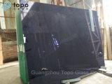 4mm-10mm подкрашиванное рангом синее стекло здания поплавка (C-dB)