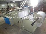 Roulis non-tissé de tissu à la machine de découpage de feuille