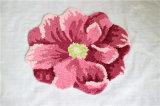 Coperta di zona Shaggy su ordinazione della moquette della decorazione essenziale domestica del fiore