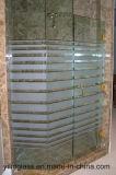 ヒンジの開き窓のシャワー・カーテンのための強くされたガラス