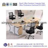 簡単な参謀本部の机の現代オフィスワークステーション家具(WS-08#)
