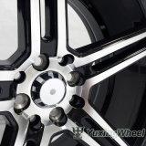 新しいデザイン車は販売のための17インチの合金の車輪に縁を付ける