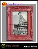 Het het promotie Houten Beeld van de Muur van de Ambacht/Frame van de Foto