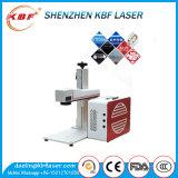 Ce, máquina de gravura do laser da fibra do ISO Ipg 20With30W para o carbono/aço suave