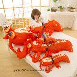 Изготовленный на заказ большая игрушка рака плюша размера