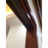 Porte en verre de glissement en bois pour le balcon et l'entrée (GSP3-008)