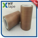 ガラス繊維のテフロン布によって塗られるシリコーンの付着力のテフロンテープ