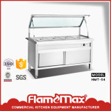 Subsistance de Bain Marie de buffet de carter de l'acier inoxydable 4 chaude (HMT-54)