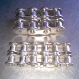 ANSIの標準合金鋼鉄デュプレックスのローラーの鎖