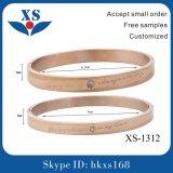 Gold überzogene Armbänder des Schmucksache-Großverkauf-316L für Dame