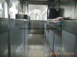 Mini matériel de camion de nourriture d'acier inoxydable pour le grille-pain