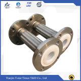 Manguito metálico flexible acanalado del acero inoxidable