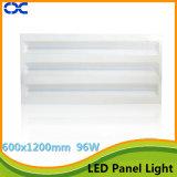 Iluminação de painel da luz de teto do diodo emissor de luz de RoHS 96W 1200X600mm do Ce