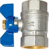 Vendiendo el alambre y la válvula de cobre amarillo (EM-V-6)