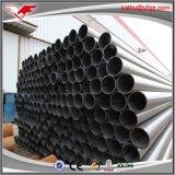 Tubos de acero y tubos soldados negros de carbón de ERW