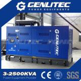 комплект генератора 400kVA Perkins звукоизоляционный тепловозный (GPP400S)