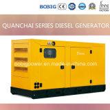 15kw-50kw stille Diesel die Generator door Weichai Engine wordt aangedreven
