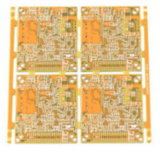 1.6mm mehrschichtiger gelber Soldermask Schaltkarte-Vorstand