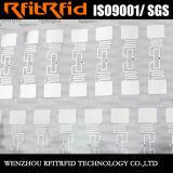 etiqueta inalterable a prueba de calor del parabrisas de 860-960MHz RFID