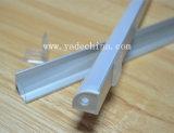 Alluminio d'angolo con l'obiettivo per il profilo del LED