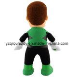 Doll van de Gift van de Jonge geitjes van het Stuk speelgoed van de Lantaarn van de pluche Groen Zacht Gevuld Grappig