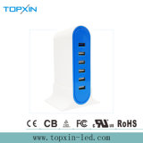 40W Lader van de Haven USB van de Lader QC3.0 de Multi voor Mobiele Telefoon 6 Haven