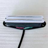 白いカラー熱い柵の二重コイルの単一のギターの積み込み