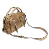 Crossbody de los hombres Hobo Bolsa de viaje bolso de cuero genuino del bolso del recorrido