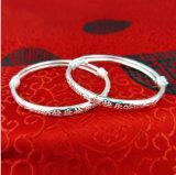 Volles silbernes rundes Armband des Baby-silbernes Armband-S990 für Männer und Frauen