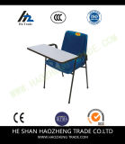 Cadeira ergonómica da pilha do escudo do preto da capacidade Hzpc041 com frame preto