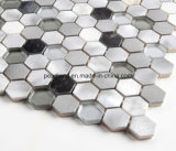 Aluminiummosaik-Fliesen SteinMatel deckt Dekoration-Küche Backsplash Badezimmer-Wand-Fliesen Acs-Hns4301 mit Ziegeln