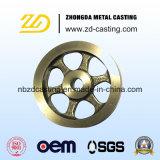 Kundenspezifische China-Gießerei-duktile Eisen-Sand-Gussteile für Aufbau-Maschinerie
