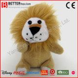 Pequeño león lindo de los animales rellenos