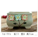 卸し売り環境に優しいヨーロッパ式は陶磁器の庭の植木鉢を手作りする
