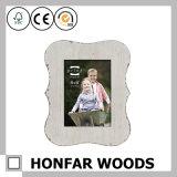 Frame de retrato de madeira personalizado da arte da tabela do Coaster de Soild