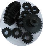Piñón de cadena de fabricación del desplazamiento del rodillo resistente de la conexión con a prueba de calor