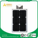 1つの太陽通りの工場供給すべてかPIRセンサーとの庭またはヤード軽い12W保証3年の