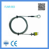 Type type thermocouple de Customed K de détecteur de sonde de forme de point de thermocouple de K