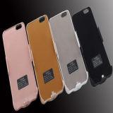 밑바닥 턱 없는 iPhone 7/Plus 힘 케이스를 위한 무선 휴대용 힘 은행