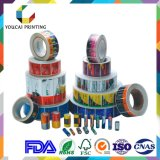 Rolo adesivo impresso cosmético da etiqueta da etiqueta