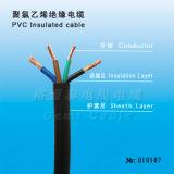 Cabo de cobre do PVC do condutor da qualidade