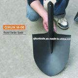 Черной распыленная пластмассой остроконечная лопата сада M-06