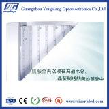 Rectángulo-ARB ligero de acrílico frameBack-encendido aluminio del LED