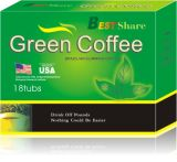 Café de meilleure action normale de 100% et thé de régime verts de Hearbal